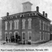 Nye County Courthouse - Belmont, Nevada