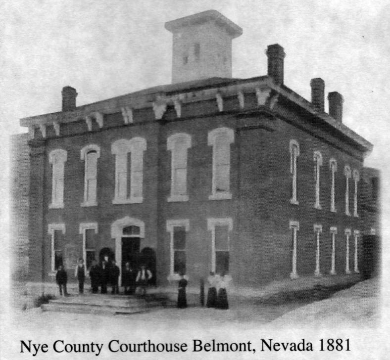 Nye County Courthouse - Belmont, Nevada