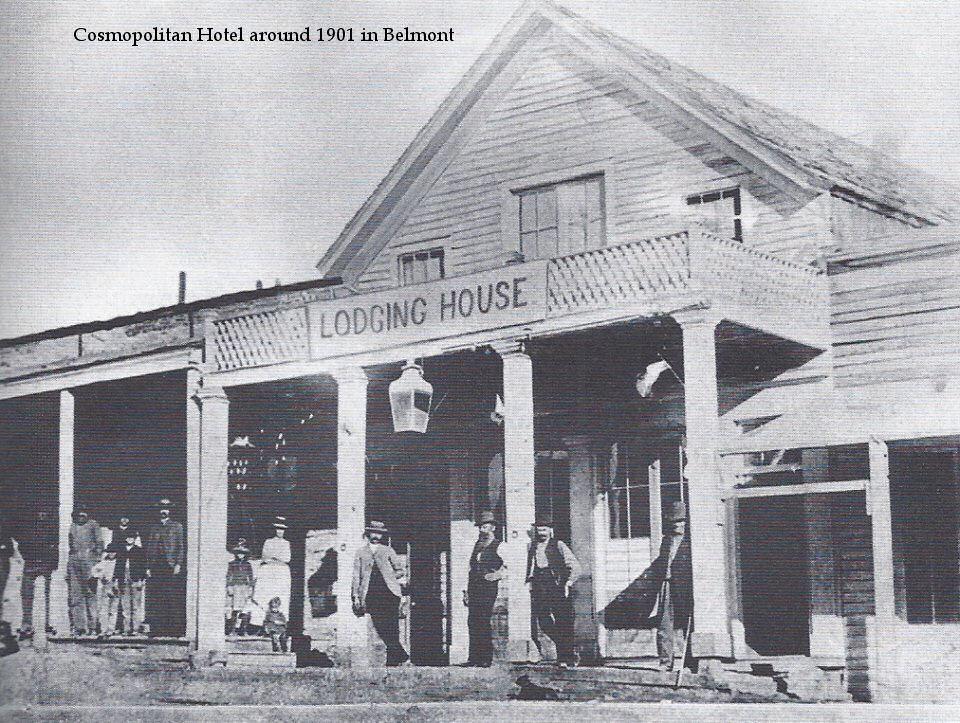 Cosmopolitan Hotel in Belmont Nevada 1901