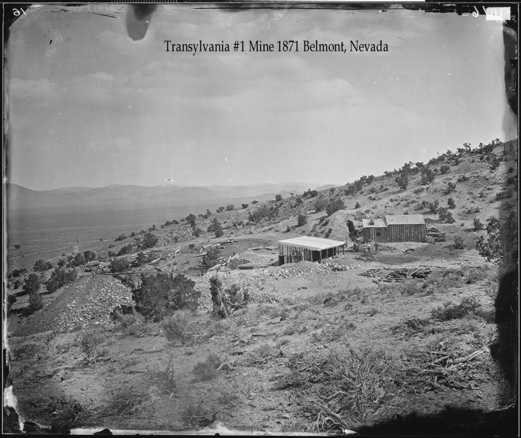 Transylvania 1 Mine 1871 Belmont Nevada