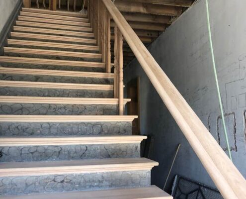 July 16, 2019 Rebuild of the Stairs