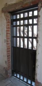 Steel Jail Door
