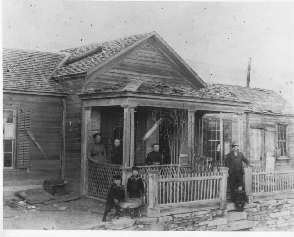 Gilbert House Belmont 1900
