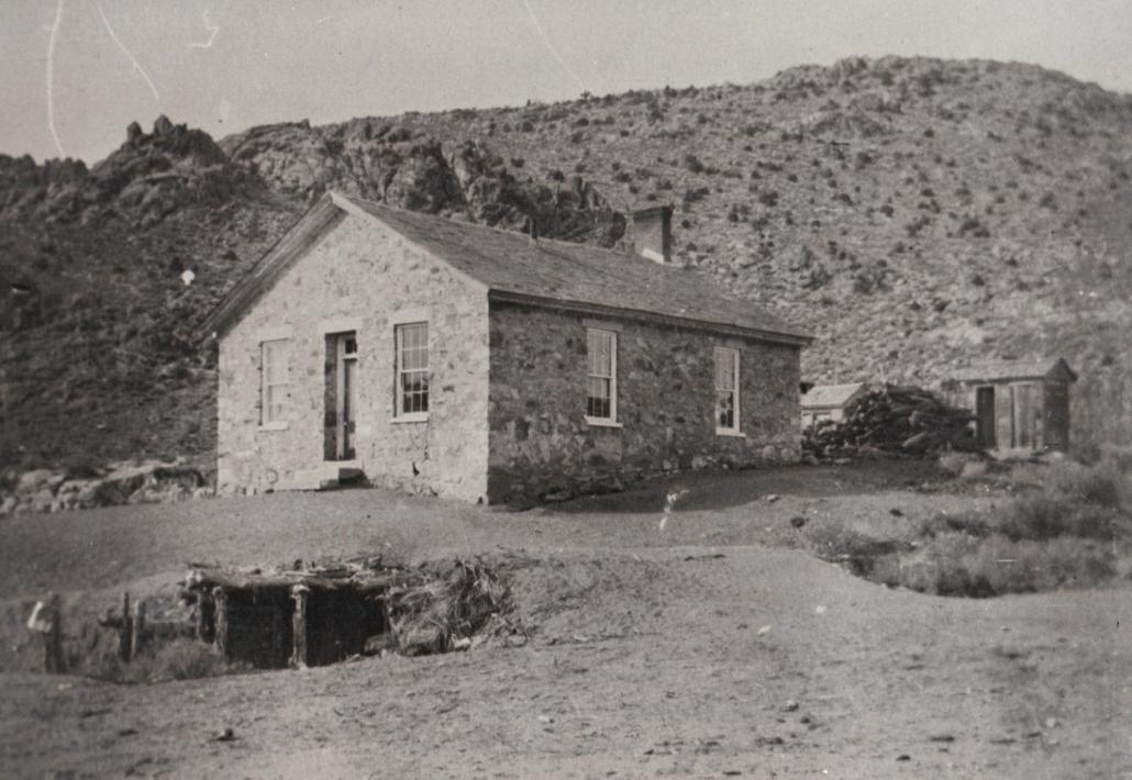 Schoolhouse Belmont 1901